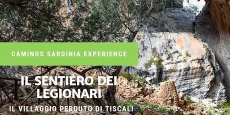 Il sentiero dei legionari: il villaggio perduto di Tiscali! biglietti