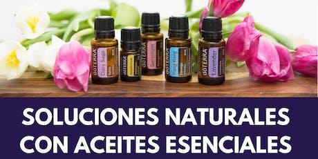 Soluciones Naturales con Aceites Esenciales (Cidra) tickets