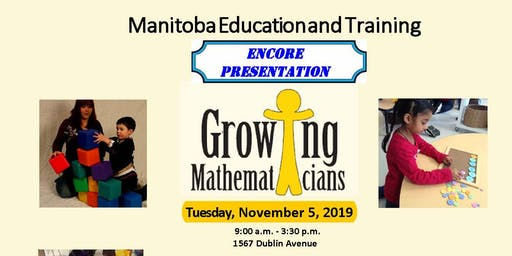 ENCORE PRESENTATION: Growing Mathematician