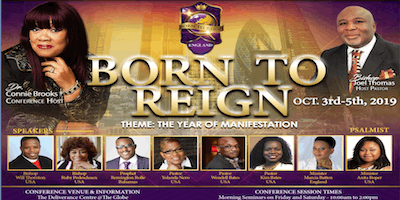 Born to Reign Conference Workshops