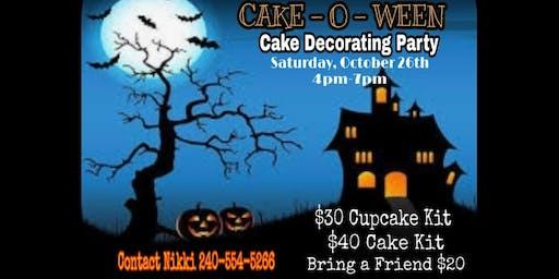 Cake-o-ween Cake decorating class