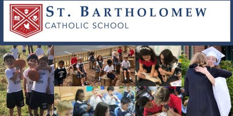 St. Bartholomew School Admissions Open House tickets