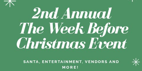 The Week Before Christmas Shopping Event