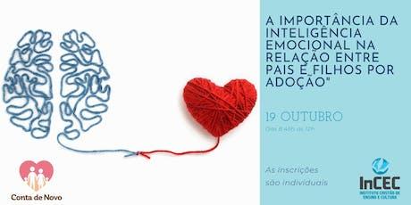 Palestra de Outubro - A Importância da Inteligencia Emocional na Relação entre Pais e Filhos por Adoção ingressos