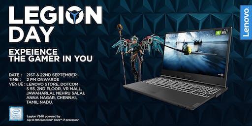 Lenovo Legion Day | Chennai