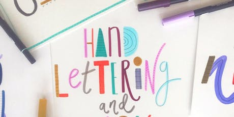 Art Workshop- Hand lettering with Chloe Turner tickets