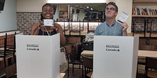 Engaging Democracy in Communities: Vote PopUp Training (TORONTO)