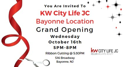 KW City Life JC Bayonne Location Grand Opening Party tickets