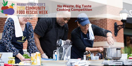 Community Food Rescue Week: No Waste, Big Taste Cooking Competition tickets