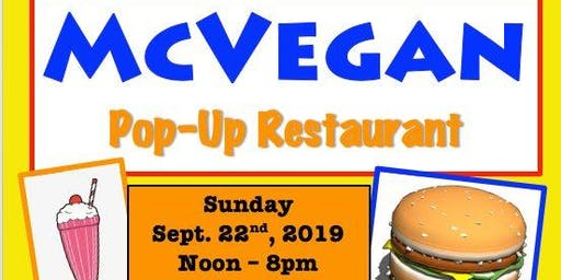 McVegan Pop-Up Restaurant