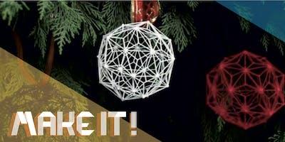 Make it! Corso decorazioni natalizie penna 3d