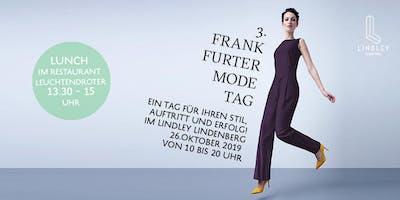 Frankfurter Modetag / Lunch-Ticket von 13.30 – 15 Uhr