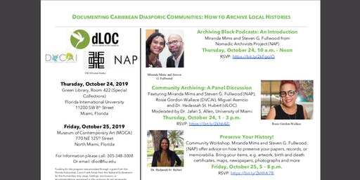 Community Archiving: A Panel Discussion