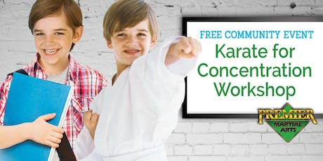 Karns and Hardin Valley Elementary FREE Intro to Martial Arts Workshop!  tickets