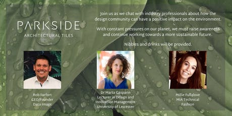 Sustainability Panel Discussion - Leicester Design Season tickets