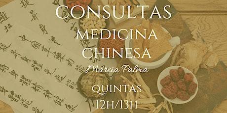 Consultas de Medicina Chinesa bilhetes