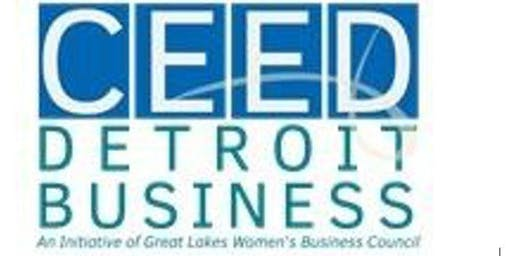 Detroit Business Growth Initiative Orientation