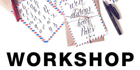 Art Workshop- Hand lettered postcards with Gabby Kere tickets