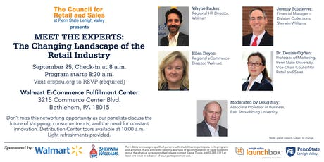 Meet the Experts: The Changing Landscape of the Retail Industry tickets