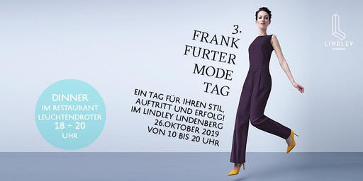 Frankfurter Modetag / Dinner-Ticket von 18 – 20 Uhr