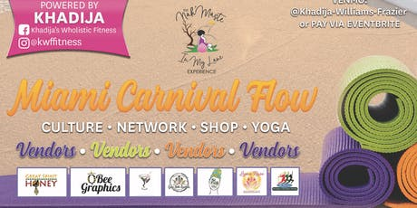 Miami Carnival Yoga Flow tickets