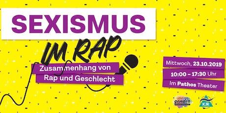 Sexismus im Rap Tickets