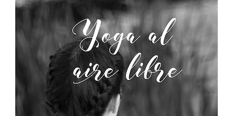 Yoga al aire libre tickets