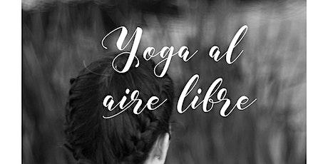Yoga al aire libre entradas