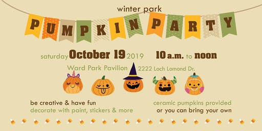 Winter Park Pumpkin Party