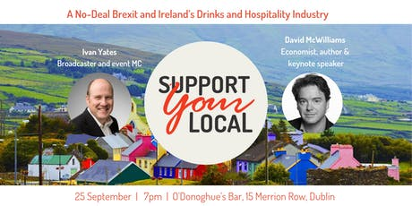 A No-Deal Brexit and Ireland's Drinks and Hospitality Industry tickets