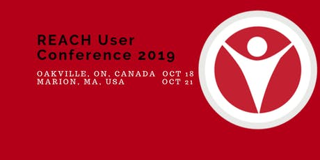 REACH User Conference - Marion, MA, USA  October 21, 2019 tickets