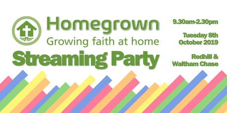 Homegrown Streaming Party - Southern & Islands Region tickets