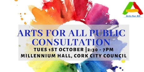 Arts For All Public Consultation tickets