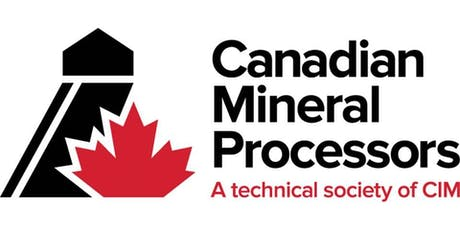 52nd CANADIAN MINERAL PROCESSORS CONFERENCE tickets