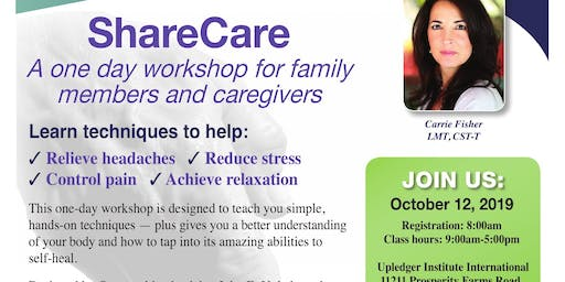 ShareCare: A One Day Workshop for Family Members and Caregivers