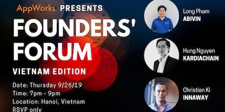 Founders' Forum: Vietnam Edition tickets