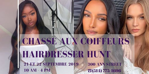 Partnership opportunity : Chasse aux coiffeurs / Hairdresser Hunt