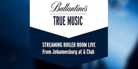 Ballantine Streaming Experience tickets