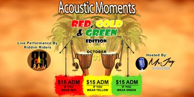 ACOUSTIC MOMENTS - RED, GOLD AND GREEN EDITION