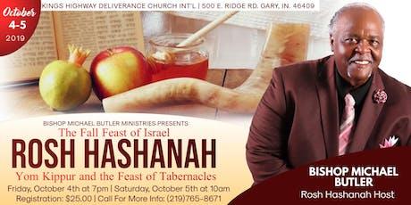 Michael Butler Ministries Presents Rosh Hashanah  tickets