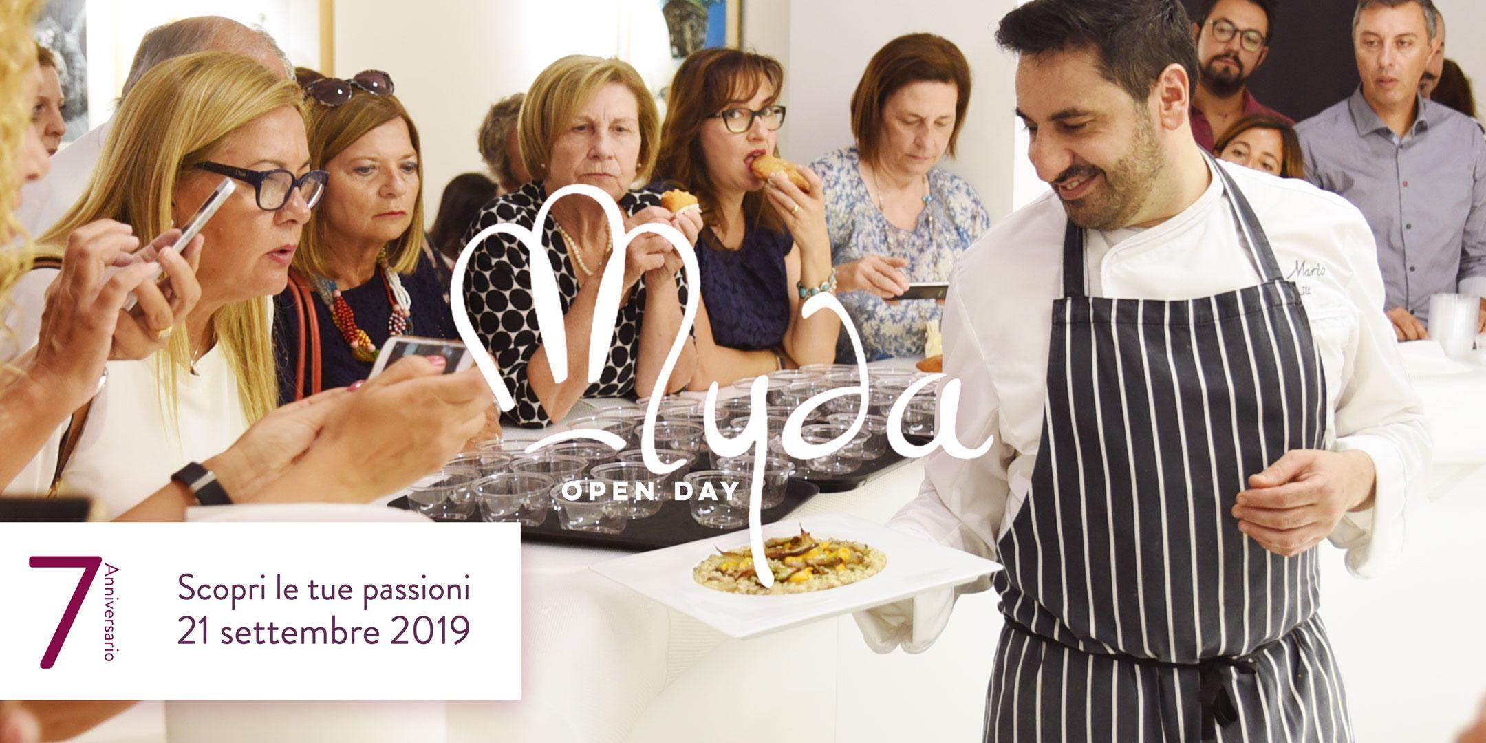 MYDA OPEN DAY 2019 - 7° ANNIVERSARIO. Cooking Into The Arena.