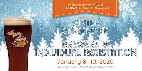 2020 Winter Conference & Trade Show - Brewery & Individual Registration tickets
