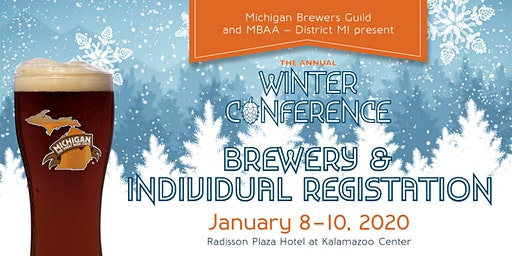 2020 Winter Conference & Trade Show - Brewery & Individual Registration