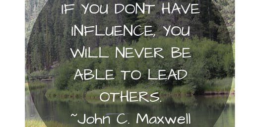 Leadership Training: How to Become a Person of Influence