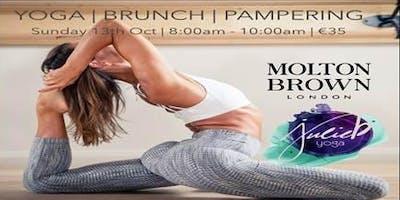 Molton Brown & Gym plus Coffee Yoga Morning with Julie B Yoga