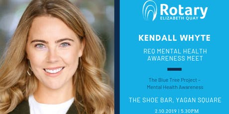 The Blue Tree Project – Mental Health Awareness with Kendall Whyte tickets