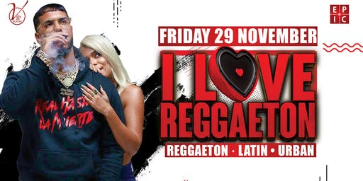 I LOVE REGGAETON | THE VIP ROOM
