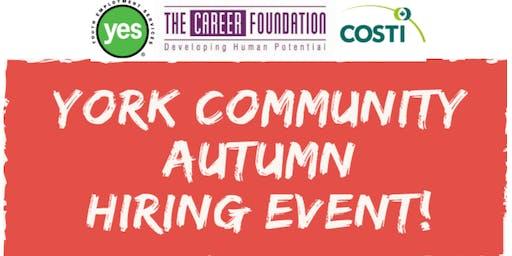 York Community Autumn Hiring Event