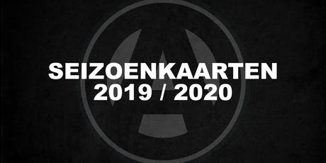 Seizoenkaart 2019-2020 tickets