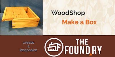 Keepsake Box - Woodworking Class